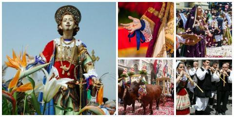 Magisch Spektakel in Cagliari - Festa di Sant' Efisio