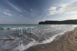 Het strand van Cagliari - B&B Carlo Felice.