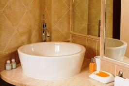 Detail badkamer - B&B Carlo Felice.