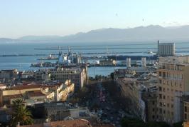 Cagliari - De hoofdstad van Sardinië.