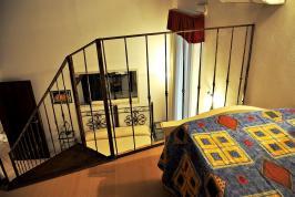 B&B Cagliari: familiekamer met vide