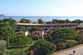 De villa's en appartementen van Residence Campus.