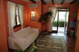 Receptie ruimte van appartement Il Sogno.