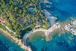 Overzichtfoto van Arbatax Residence op Sardinië