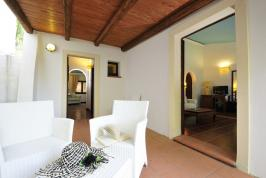 Zitgedeelte Arbatax Residence