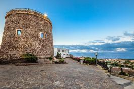 Omgeving hotel Seta, Sardinië.
