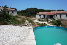 Authentieke Sardijnse vakantiehuisjes.