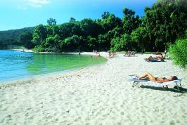 Privé strand 'Molo' aan het vakantiepark