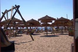 Het kindvriendelijke strand gelegen bij Villaputzu
